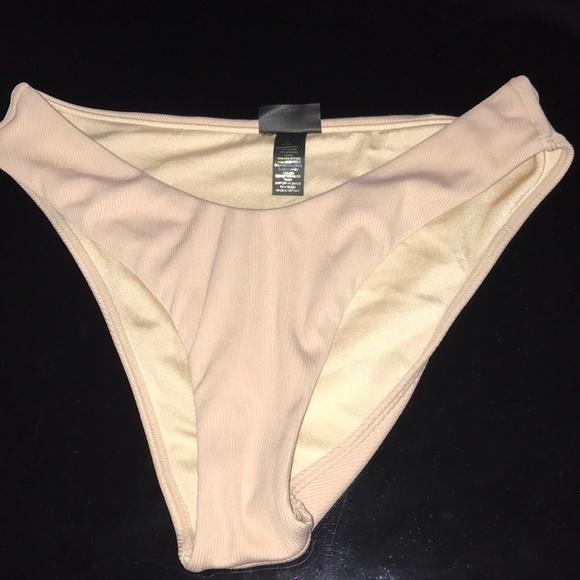 Nude high waisted bikini bottoms from Pacsun. M 5b5b9235bf7729e6924c1b65 5056575b0c3e